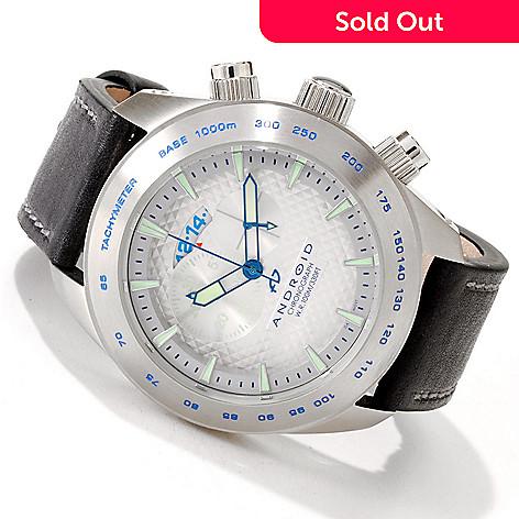 605-602 - Android Men's Maxjet Quartz Movement Chronograph Strap Watch