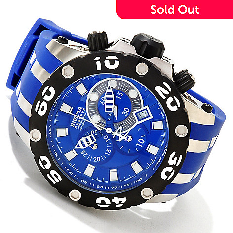 605-669 - Invicta Reserve Men's Specialty Subaqua Scuba Swiss Made Quartz Chronograph Tachymeter Strap Watch