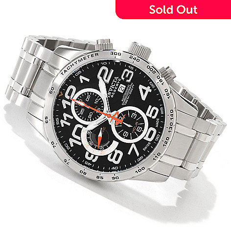 605-710 - Invicta Reserve Men's Military Swiss Automatic Chronograph Tachymeter Watch