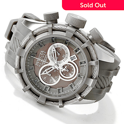 605-740 - Invicta Reserve Men's Bolt Swiss Quartz Chronograph Stainless Steel Strap Watch