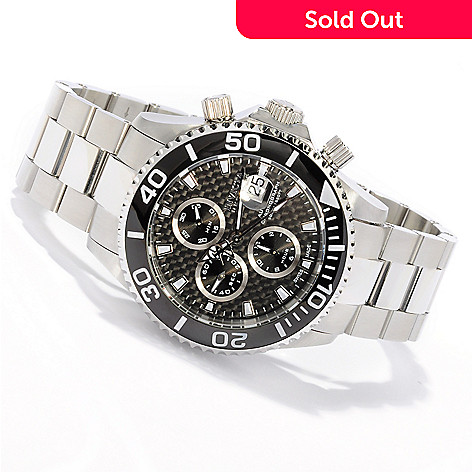 605-747 - Invicta Reserve 47mm Pro Diver Swiss Automatic Chronograph Bracelet Watch