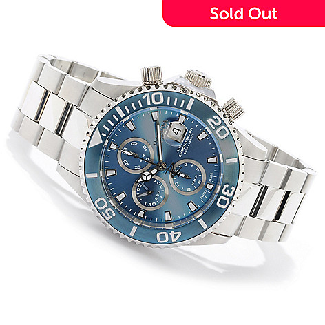 605-748 - Invicta Reserve Men's Pro Diver Swiss Automatic Chronograph Bracelet Watch