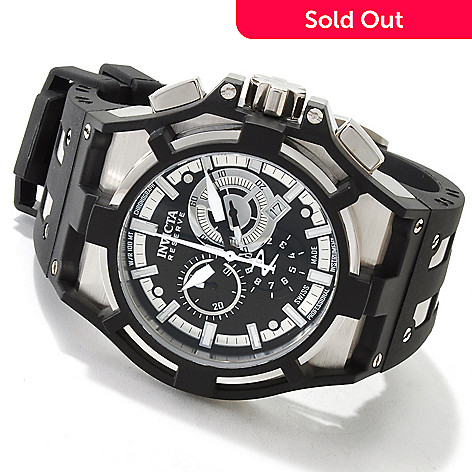 605-857 - Invicta Reserve Men's Akula Swiss Made Chronograph Quartz Watch
