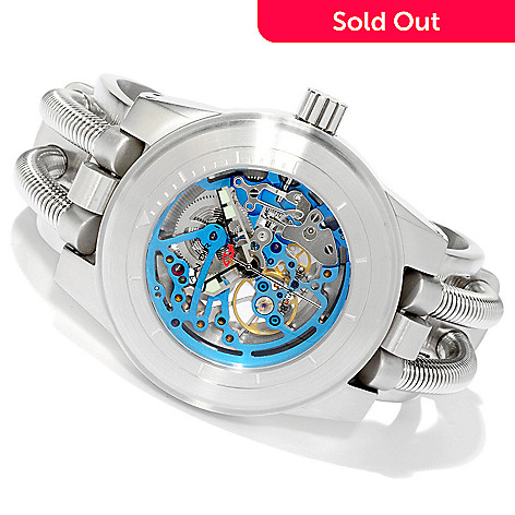 605-897 - Android Men's Hydraumatic G7 Automatic Skeleton Stainless Steel Cuff Watch