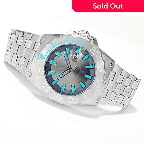 605-901 - Android Men's Divemaster Predator Ronda Quartz Bracelet Watch