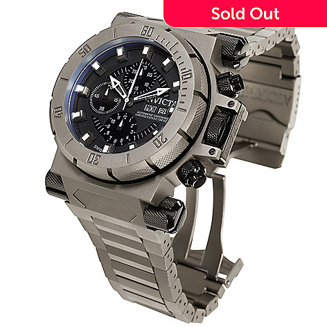 605-987 - Invicta Men's Coalition Forces Swiss Automatic Titanium Bracelet Watch