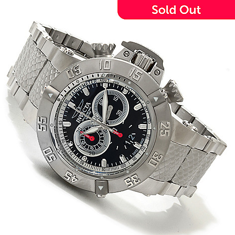 606-014 - Invicta Men's Subaqua Noma III Swiss Made Quartz Chronograph Bracelet Watch