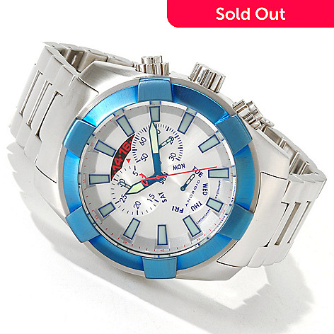 606-073 - Android Men's Naval 2G Quartz Chronograph Sunray Dial Bracelet Watch