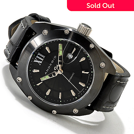 606-075 - Android Men's Virtuoso Limited Edition Automatic Strap Watch