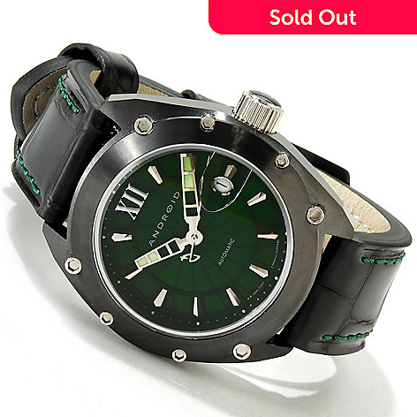 606-077 - Android Men's Virtuoso 45 Limited Edition Automatic Ceramic Strap Watch