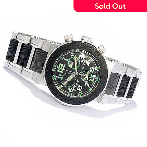 606-091 - Invicta Reserve Men's Ocean Reef Swiss Made Quartz Chronograph Stainless Steel Bracelet Watch
