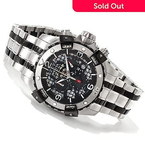 606-146 - Invicta Men's Sea Thunder Quartz Chronograph Stainless Steel Bracelet Watch