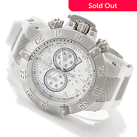 606-156 - Invicta Men's Subaqua Noma III Swiss Quartz Chronograph Strap Watch