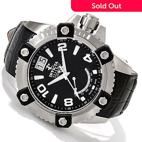 606-260 - Invicta Reserve Men's Arsenal Swiss Quartz Stainless Steel Strap Watch