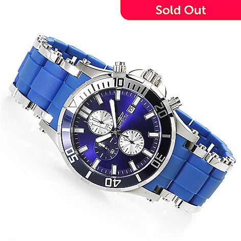 606-372 - Invicta Men's Sea Spider Quartz Chronograph Stainless Steel Bracelet Watch