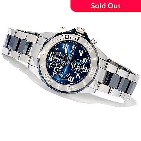 606-388 - Invicta Men's Pro Diver Limited Edition Tungsten & Ceramic Bracelet Watch