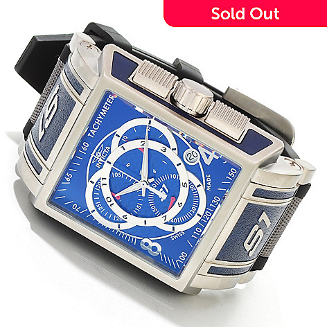 606-434 - Invicta Men's S1 Touring Edition Swiss Made Quartz Chronograph Polyurethane & Nylon Strap Watch