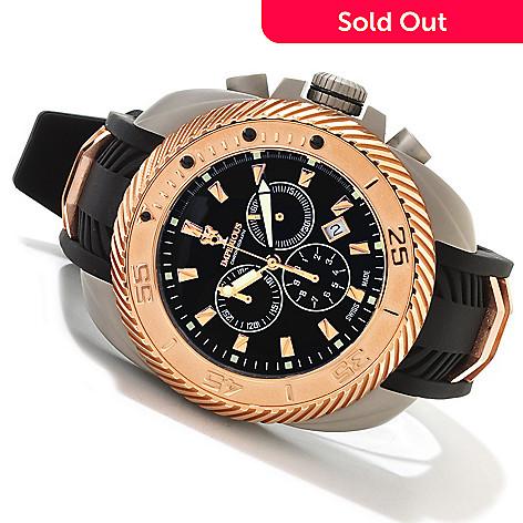 606-471 - Imperious Men's Gear Head Swiss Made Quartz Chronograph Strap Watch