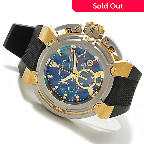 606-524 - Imperious Men's X-Wing Swiss Made Quartz Chronograph Mother-of-Pearl Strap Watch