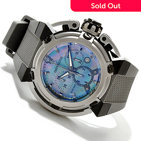 606-527 - Imperious Men's X-Wing Swiss Made Quartz Chronograph Mother-of-Pearl Strap Watch