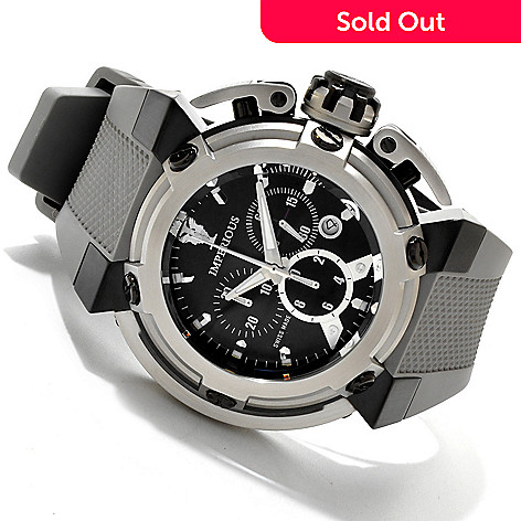 606-529 - Imperious Men's X-Wing Swiss Made Quartz Chronograph Carbon Fiber Strap Watch