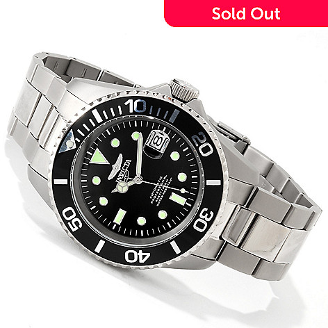 606-537 - Invicta Men's Pro Diver Automatic Titanium Bracelet Watch