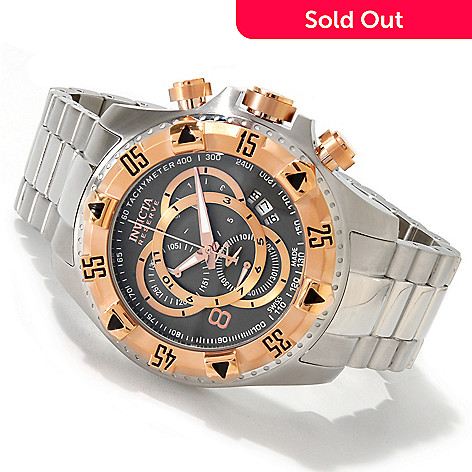 606-557 - Invicta Reserve Men's Excursion Touring Swiss Chronograph Bracelet Watch