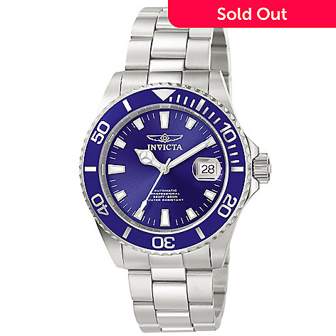 606-573 - Invicta Men's Pro Diver Automatic Stainless Steel Bracelet Watch