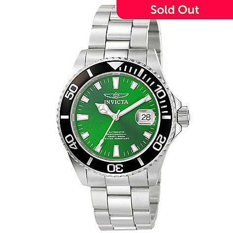 606-599 - Invicta Men's Pro Diver Automatic Stainless Steel Bracelet Watch