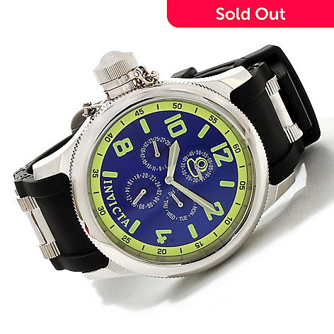606-601 - Invicta Men's Signature Russian Diver Quartz Stainless Steel Strap Watch