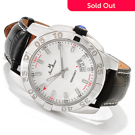 606-613 - Jean Marcel Men's Mystica Limited Edition Swiss Automatic Strap Watch