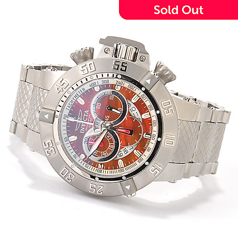 606-660 - Invicta Men's Subaqua Noma III Swiss Made Quartz Chronograph Bracelet Watch
