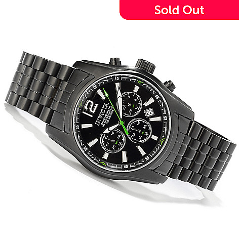 606-663 - Invicta Men's Specialty Quartz Chronograph Stainless Steel Bracelet Watch