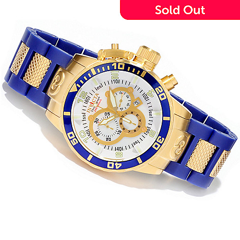 606-687 - Invicta Men's Corduba Quartz Chronograph Stainless Steel Bracelet Watch