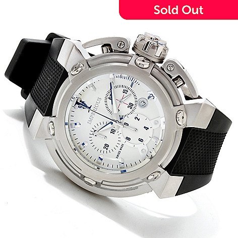 606-738 - Imperious Men's X-Wing Swiss Made Quartz Chronograph Strap Watch