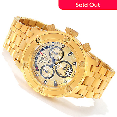 606-808 - Invicta Reserve 52mm Specialty Subaqua Swiss Quartz Chronograph Bracelet Watch