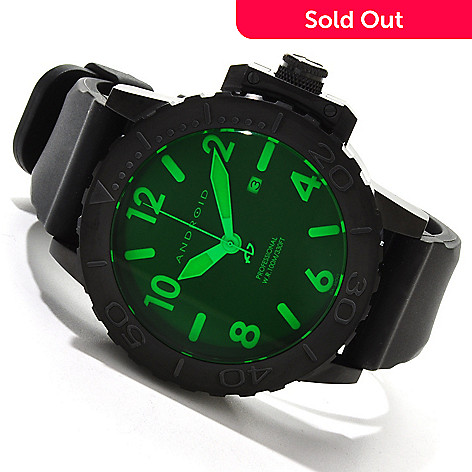 606-815 - Android Men's Trans-52 LE Night Vision Limited Edition Strap Watch