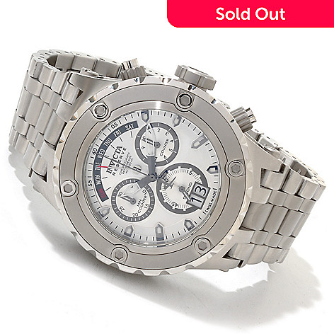 607-170 - Invicta Reserve 52mm  Specialty Subaqua Swiss Chronograph Bracelet Watch