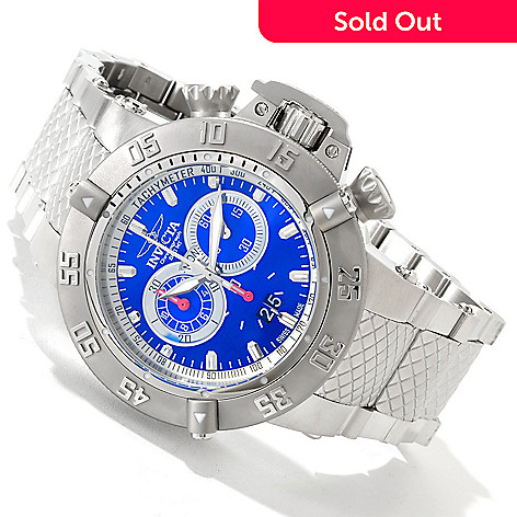 607-300 - Invicta Men's Subaqua Noma III Swiss Chronograph Stainless Steel Bracelet Watch