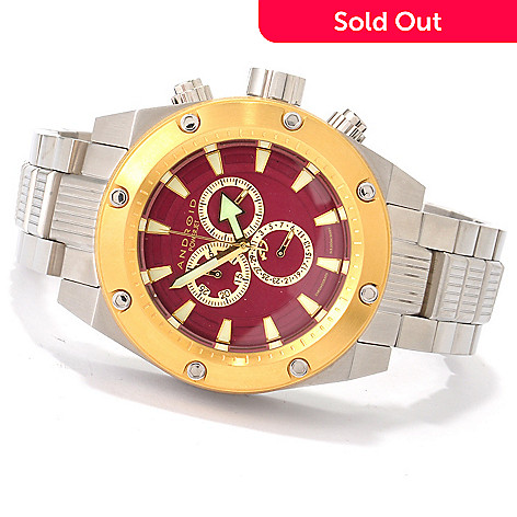607-307 - Android Men's Divemaster Powerjet Quartz Chronograph Bracelet Watch