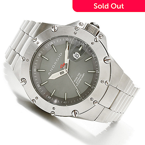 607-415 - Android 50mm Divemaster Enforcer T-100 Automatic Bracelet Watch