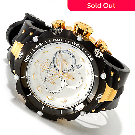 607-447 - Invicta Reserve Men's Venom Generation II Swiss Chronograph Strap Watch