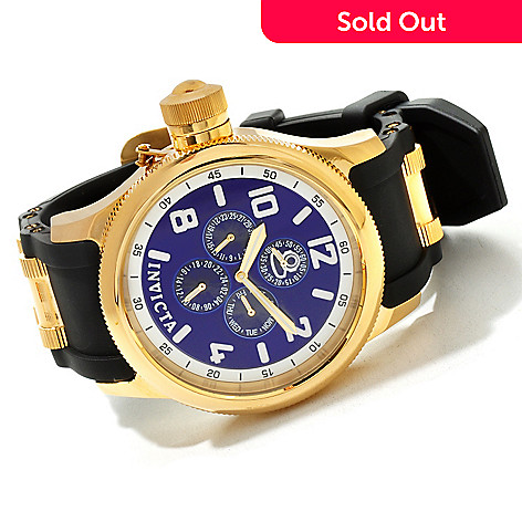 607-460 - Invicta Men's Quinotaur Russian Diver Quartz Stainless Steel Strap Watch