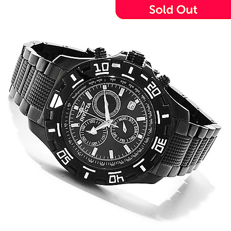 607-656 - Invicta Men's Python Sport Quartz Chronograph Bracelet Watch w/ Collector's Box