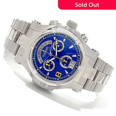 607-682 - Renato Men's T-Rex Generation II Quartz Chronograph Bracelet Watch