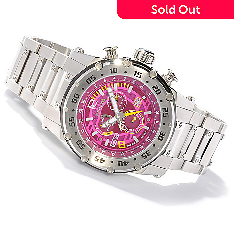 607-688 - Renato Men's Buzo Extreme Swiss Quartz Multifunction Stainless Steel Bracelet Watch