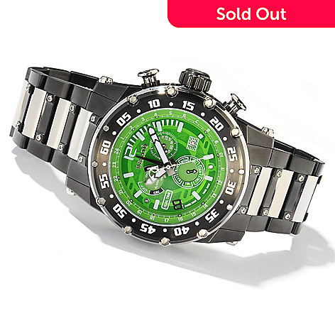 607-696 - Renato 50mm Buzo Extreme Swiss Quartz GMT Multifunction Bracelet Watch