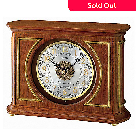 607-729 - Seiko Musical Classic Wooden Mantel Clock