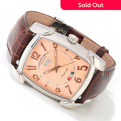 613-812 - Stuhrling Original Men's ''The Madison'' Automatic Strap Watch