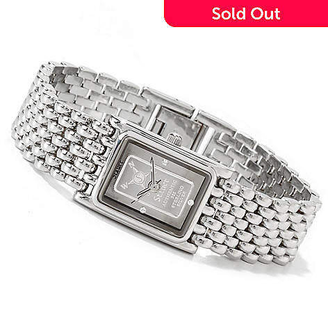 614-097 - Stauer Women's Ingot Quartz Movement Bracelet Watch